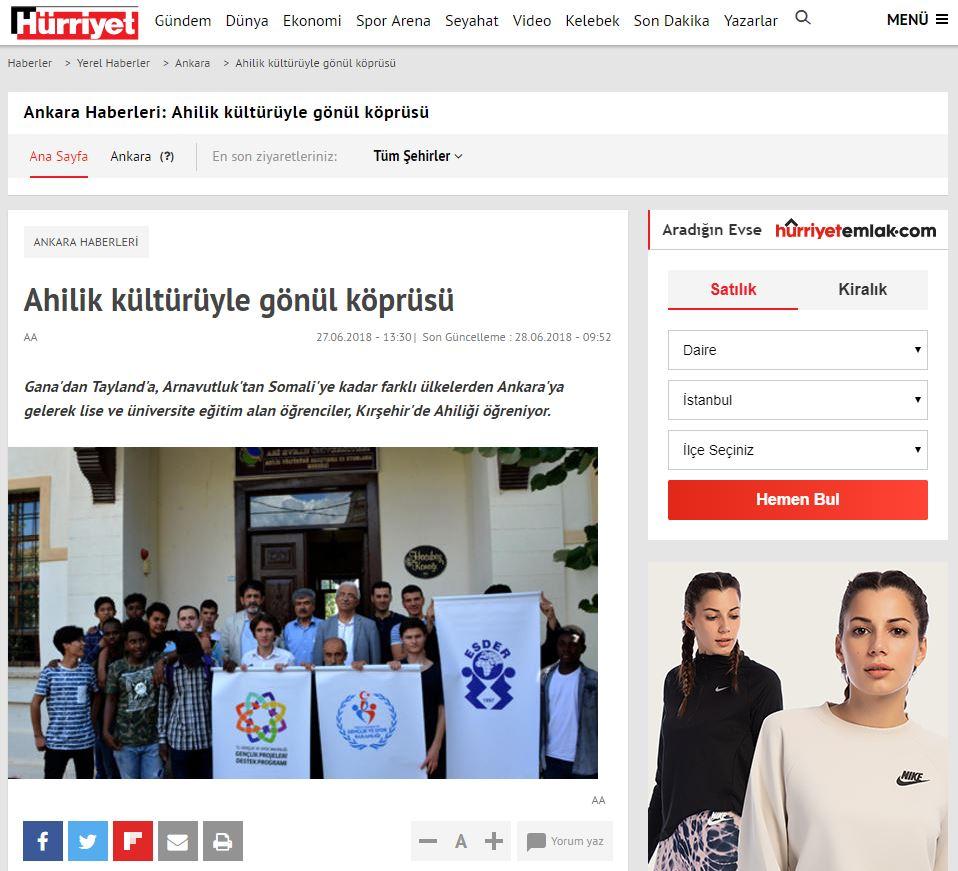 ESDER – HÜRRİYET.COM.TR 2018